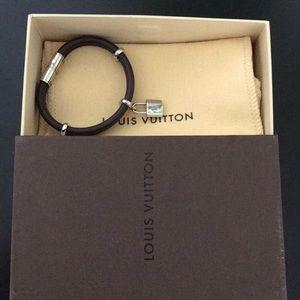 Louis Vuitton Bracelet w/ Original Box & Duster